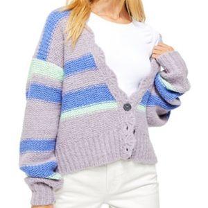 Free people Neptune sweater (NWOT)